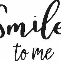 2011 - Gummistämpel Smile to me