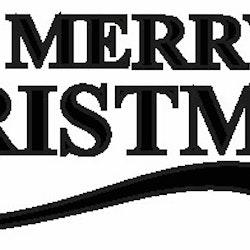 2002-Stämpel Merry christmas