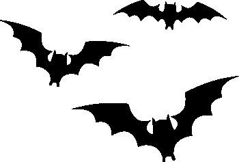 701- Gummistämpel 3 st Batman