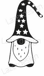 1921 - Gummistämpel Vätte stjärnor