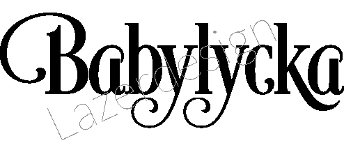 648-Stämpel Babylycka