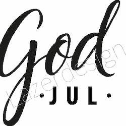 24131 -Stämpel God Jul