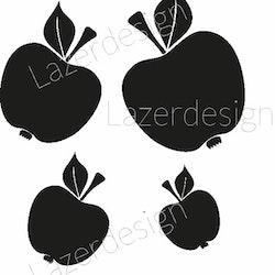 1149-Stämpel Set Äpplen
