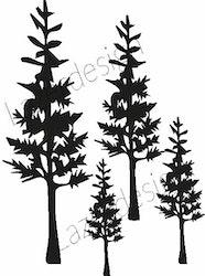 574-Stämpel  Miniträd