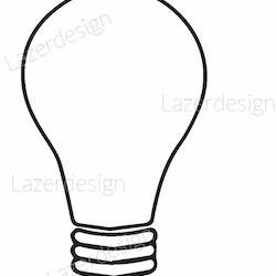 1292 - Stämpel glödlampa