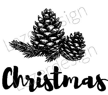 2028-Stämpel Christmas kotte
