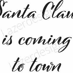 2029 - Stämpel Santa Claus is coming...
