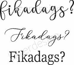 8147-Stämpel Fikadags 3 olika