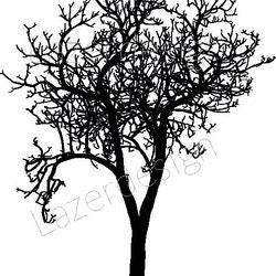 584-Stämpel Träd