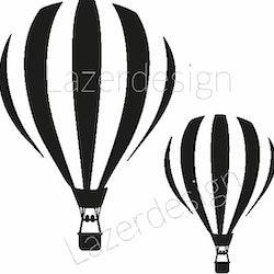 233-StämpelLuftballong 2 storlekar