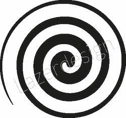 2614-Stämpel  Swirl