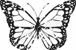 2606-Stämpel  Fjäril