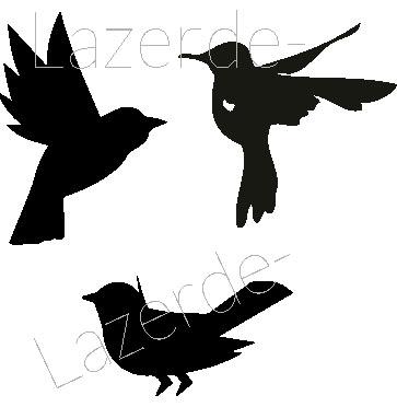 2612-Stämpel  set kollibri