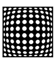 3269 - Stencil mönster cirklar