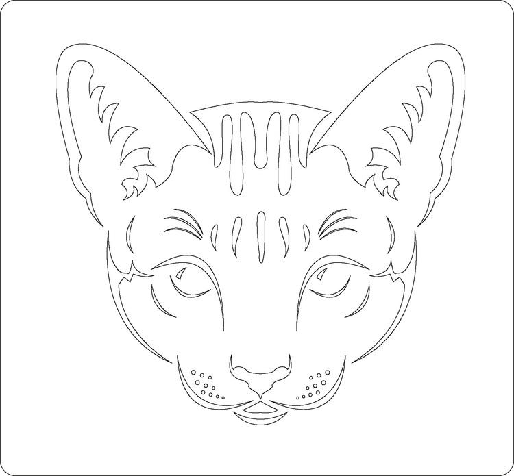 3211 - Stencil Katt