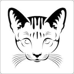 3275 - Stencil Katt