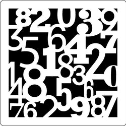 3278 - Stencil Siffror