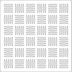 3282 - Stencil Vävt mönster