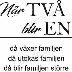 3112-Stämpel När TVÅ blir EN