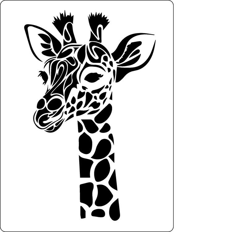 3295 - Stencil Giraff