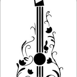 3203 - Stencil Gitarr