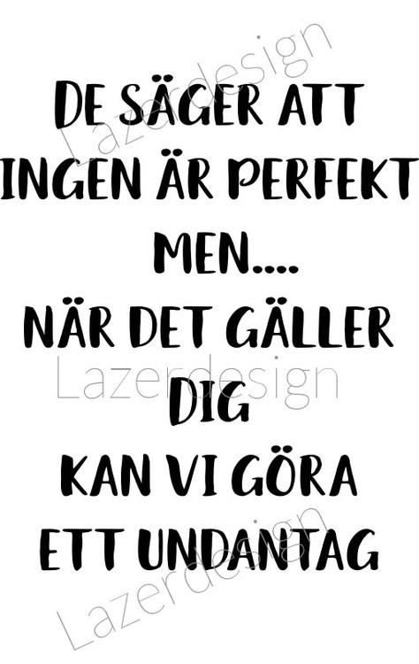3123-Stämpel De säger att ingen är perfekt......