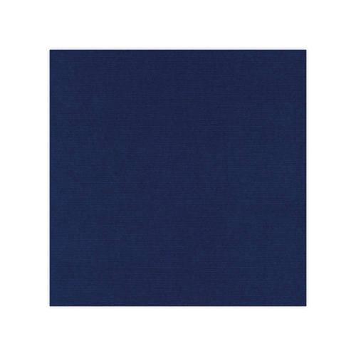 582030 Cardstock Linnestruktur Marin blå