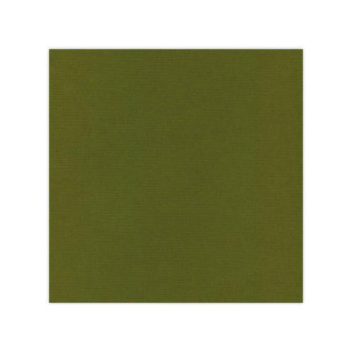 582041 Cardstock Linnestruktur Moss Green