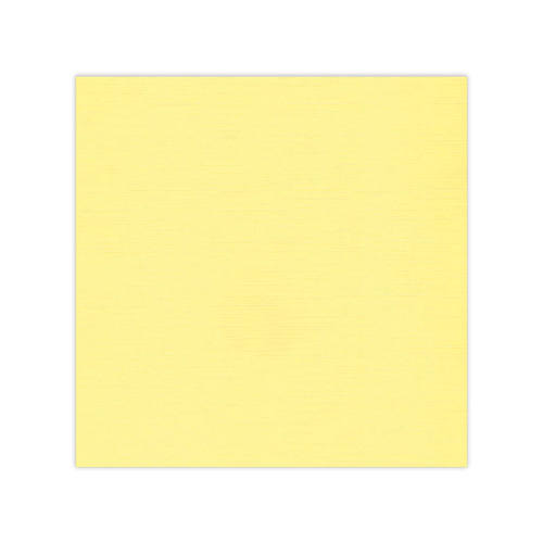 582004-10 Cardstock Linnestruktur Gul