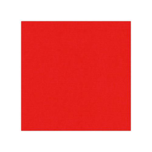 582013-10 Cardstock Linnestruktur Röd