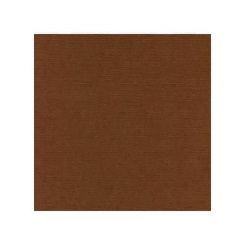 582033 Cardstock Linnestruktur Chokladbrun