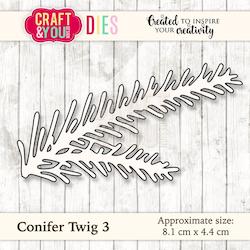 CW033  Dies Twig 3 Craft & you