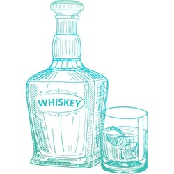 726843 Clearstamp mini Whiskey