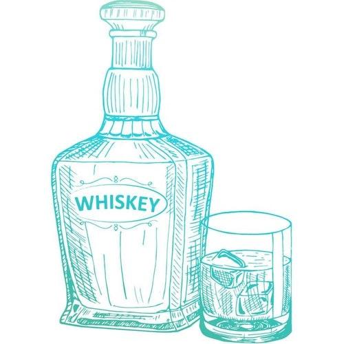 726843 Clearstamp mini Whiskey