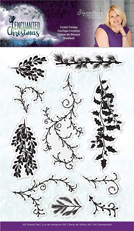 90149 Clearstamp Forest Foliage