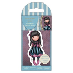 907340 Rubberstamp gorjuss Nr 75 the Frock