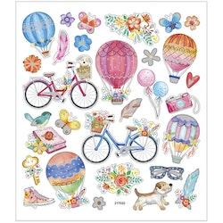 29076 Stickers cyklar och luftballonger