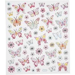288130 Stickers Fjärilar