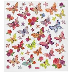 27195 Stickers Fjärilar