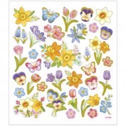 29073 Stickers Påskmotiv blommor