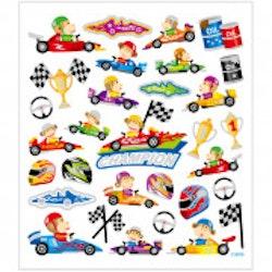 28874 Stickers Racerbilar