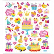 28882 Stickers Födelsedag