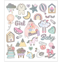 28884 Stickers  Girl Baby