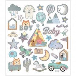 28883 Stickers  Boy Baby