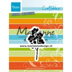 CR1496 Dies Marianne Design Gren med små blad