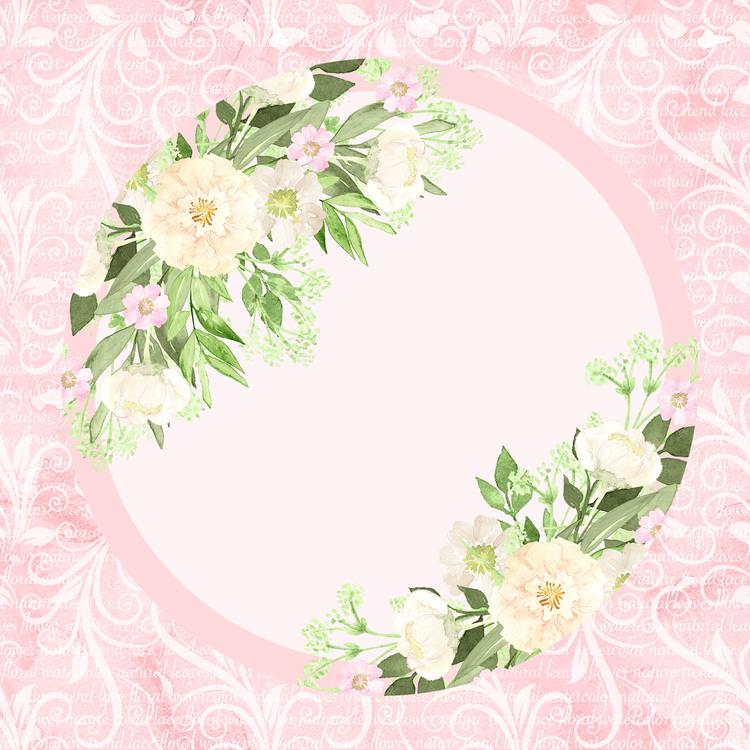 LDB-15  Pappersblock Rosa ägg