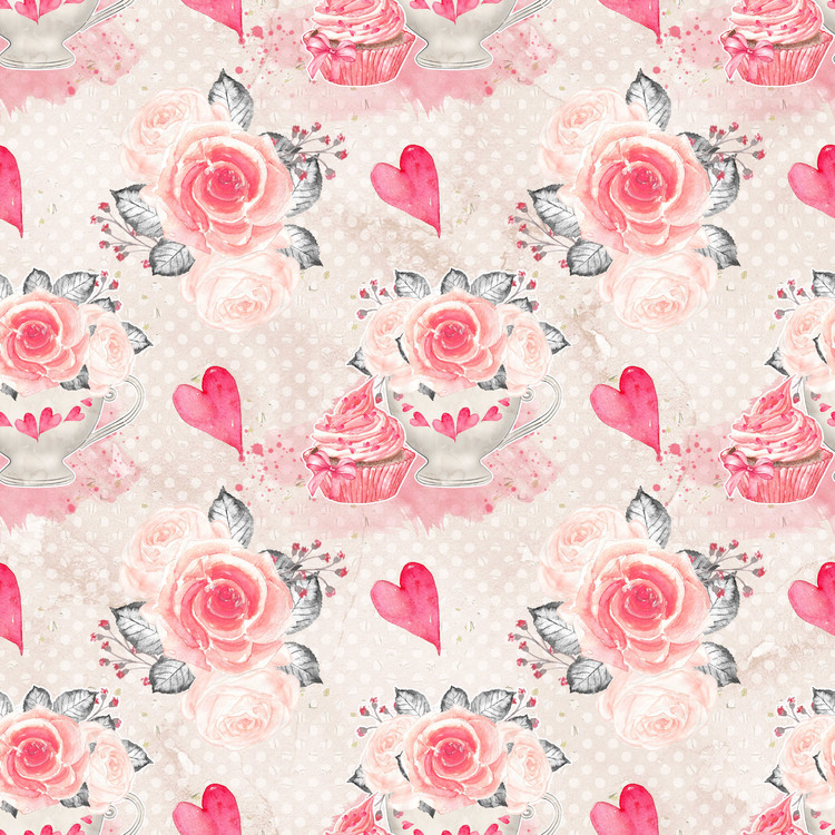 LDB-14 Pappersblock Alla hjärtan