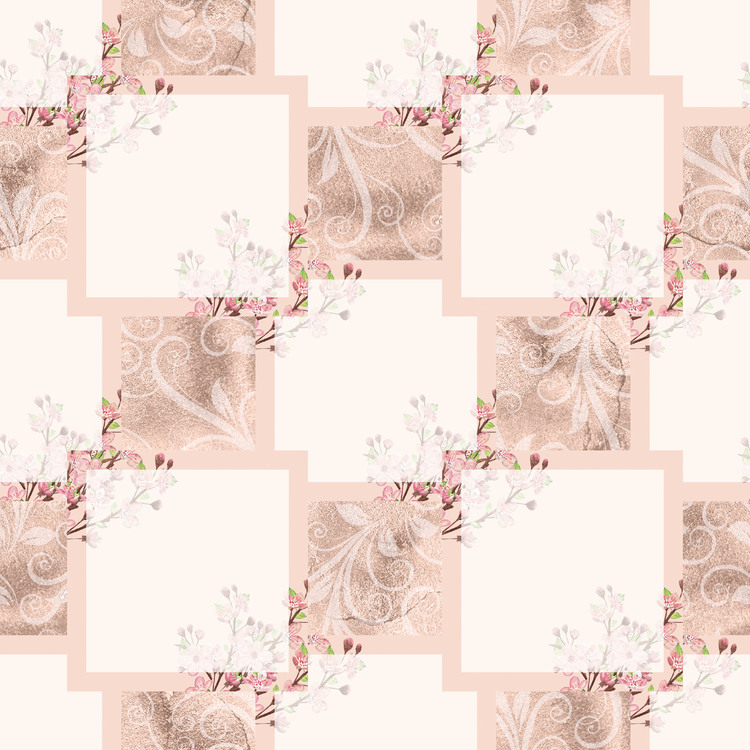 LDB-05 Pappersblock Körsbärsblom