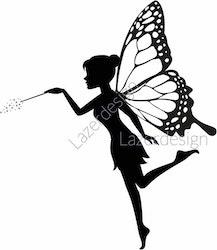 1714-Stämpel Älva Fairy