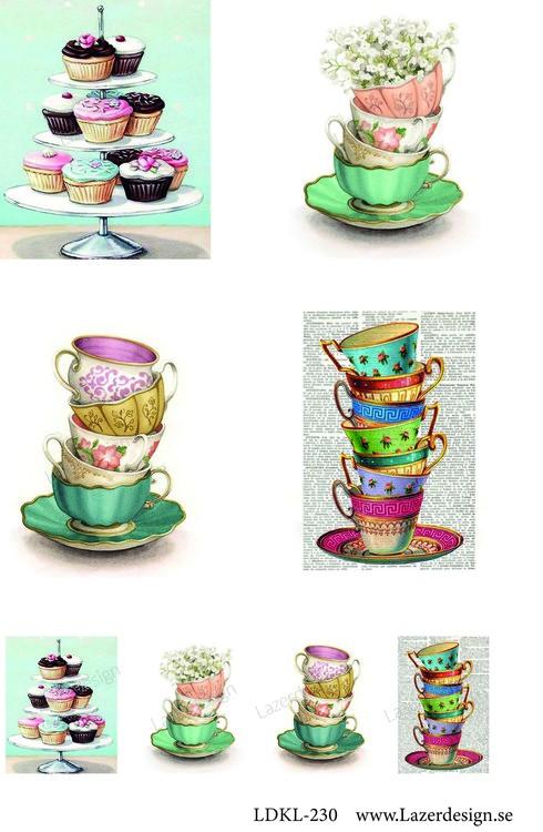 LDKL-230 Klippark Kaffekoppar
